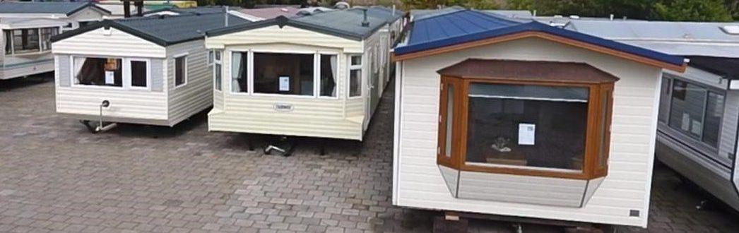 Voorraad stacaravans en chalets Nieuwe Pekela