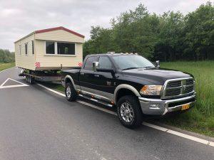 Transport Stacaravan Dodge