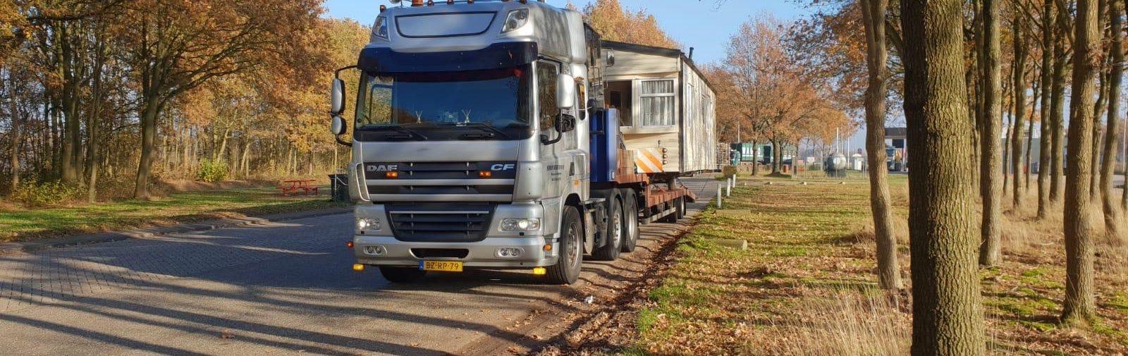 Transport Stacaravan